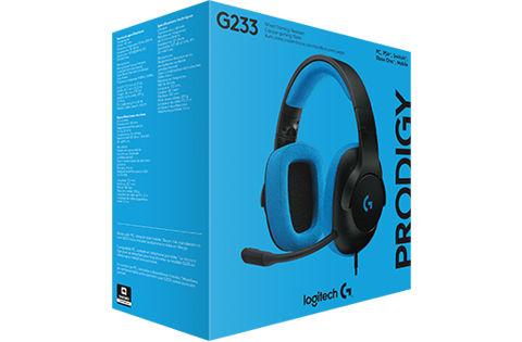 Tai Nghe Gaming Logitech G233 Prodigy Wired