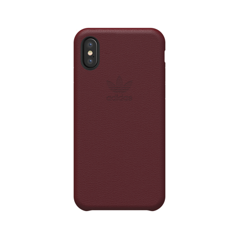 Ốp lưng iPhone X/XS adidas cho OR Leather Slim Burgundy