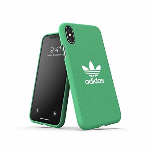 Ốp lưng iPhone X/XS adidas OR Moulded Canvas FW18 Maroon