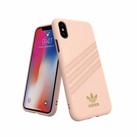 Ốp lưng iPhone X/XS adidas OR Moulded PU Snake FW18 Pink