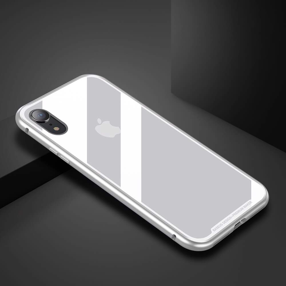 Ốp lưng nam châm Baseus cho model iPhone - Nhôm Magnetic Case