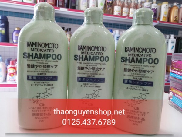 dau-goi-kich-thich-moc-toc-kaminomoto-medicated-shampoo-400ml-1