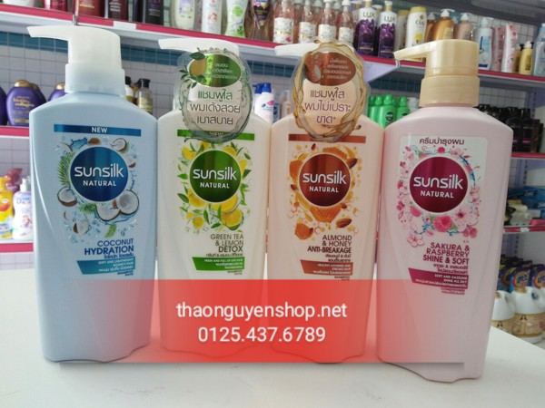dau-goi-sunsilk-thai-lan-450ml-mau-moi