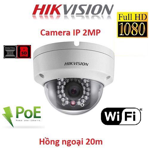CAMERA IP DOME 2MP HIKVISION DS-2CD2121G0-IS(2AX)