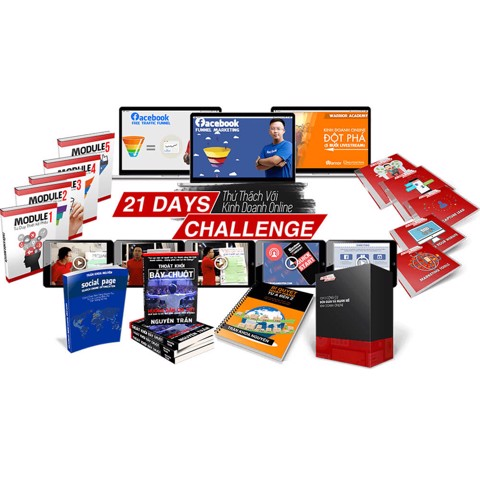 21 Days Challenge - Online Business Master