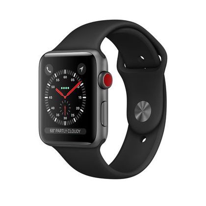 Apple Watch Series 3 GPS+CELLULAR 38mm Space Gray Aluminum Cũ 99%