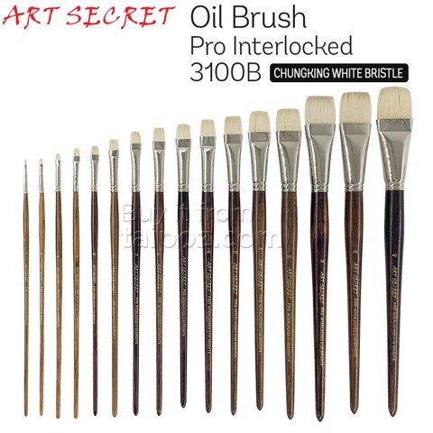 Cọ sơn dầu Art Secret Pro Interlocked 3100B