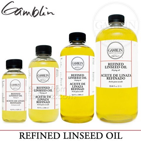 Dầu lanh tinh chế Gamblin Refined Linseed Oil