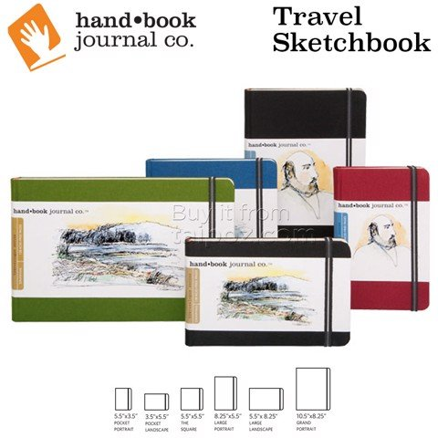 Sổ vẽ Handbook Travel Sketchbooks