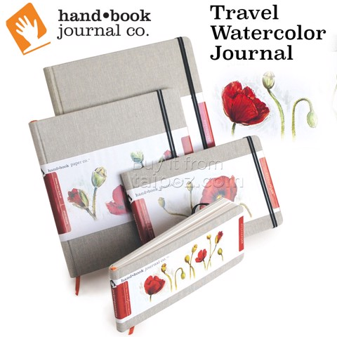 Sổ vẽ màu nước Handbook Travel Watercolor Journal