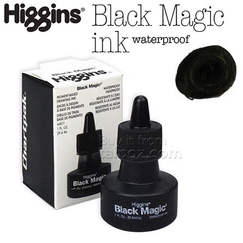 Mực Higgins Black Magic Waterproof