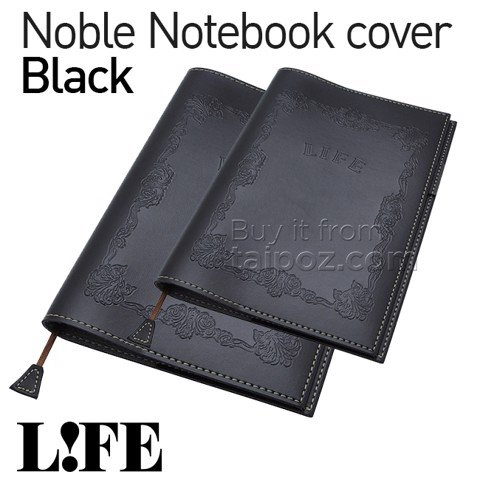 Bìa da Life Noble Note, Black