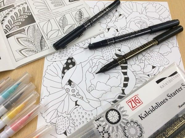 Bút đi nét Zig Mangaka, Black - cây lẻ – Taipoz