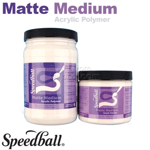 Speedball Matte medium