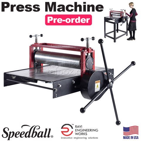 Máy in đồ họa Speedball Press Machine (hàng order)