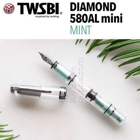 Bút máy TWSBI Diamond Mini AL - Mint Blue