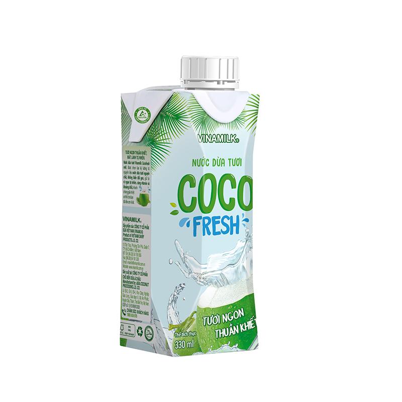 Nước dừa tươi Cocofresh - Hộp 330ml