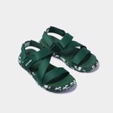 Sandals F6 sport camo xanh ruby full F6S505
