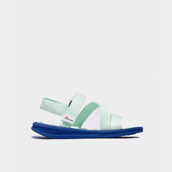 Sandals kids xanh mint full LSM007