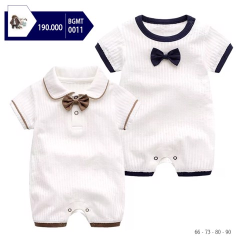 BODY JUMPSUIT NƠ CỔ | BGMT011 *