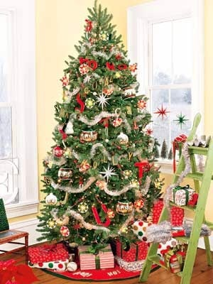 Christmas Tree Decorating Ideas 2018
