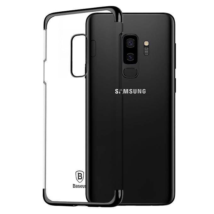 Ốp lưng Galaxy S9 plus Baseus Glitter nhựa cứng trong suốt, chống trầy