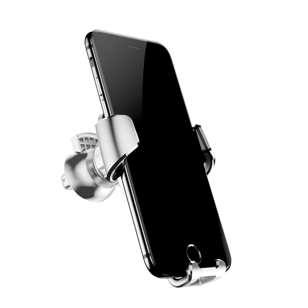 Giá đỡ điện thoại Baseus Gravity trên xe hơi quay 360 độ, dùng cho nhiều kích cỡ điện thoại