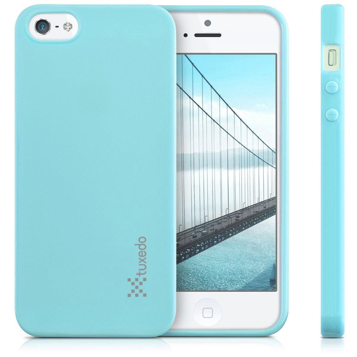 Ốp lưng iPhone SE / iPhone 5/5s, Tuxedo Frosted (Nhựa dẻo cao cấp, siêu mỏng, chống xước)