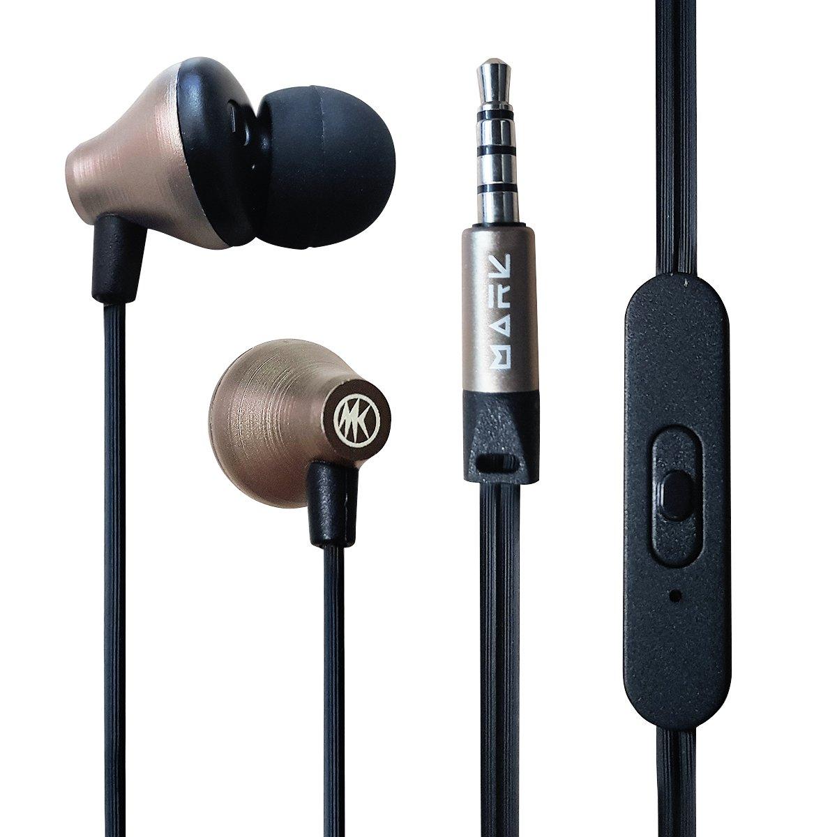Tai nghe in-ear Mark R9 (chất âm hay, bass mạnh mẽ, thiết kế sang trọng)