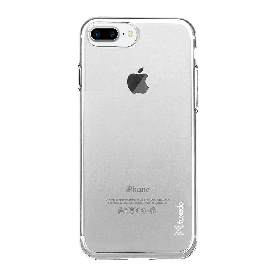 Ốp lưng iPhone 8 Plus / 7 Plus Tuxedo AirSkin (nhựa trong, đàn hồi, chống va đập, chống bám vân tay)