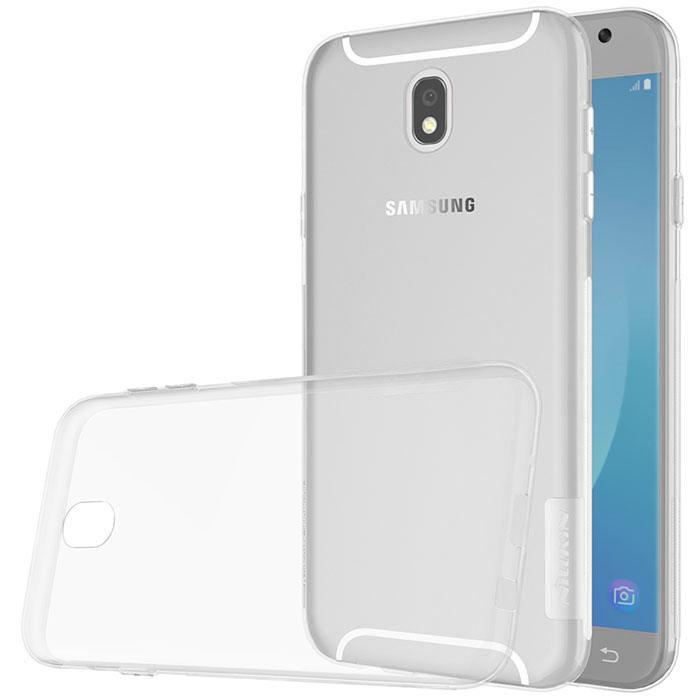 Ốp lưng Samsung Galaxy J7 Pro Tuxedo trong suốt (nhựa dẻo, mềm mại, trong suốt, chống va đập)