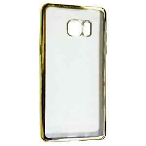 Ốp lưng Samsung Galaxy Note FE Tuxedo mạ viền, nhựa dẻo, chống xước, chống mồ hôi
