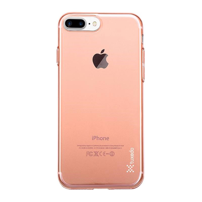 Ốp lưng iPhone 7 Plus Tuxedo AirSkin (nhựa trong, đàn hồi, chống va đập, chống bám vân tay)