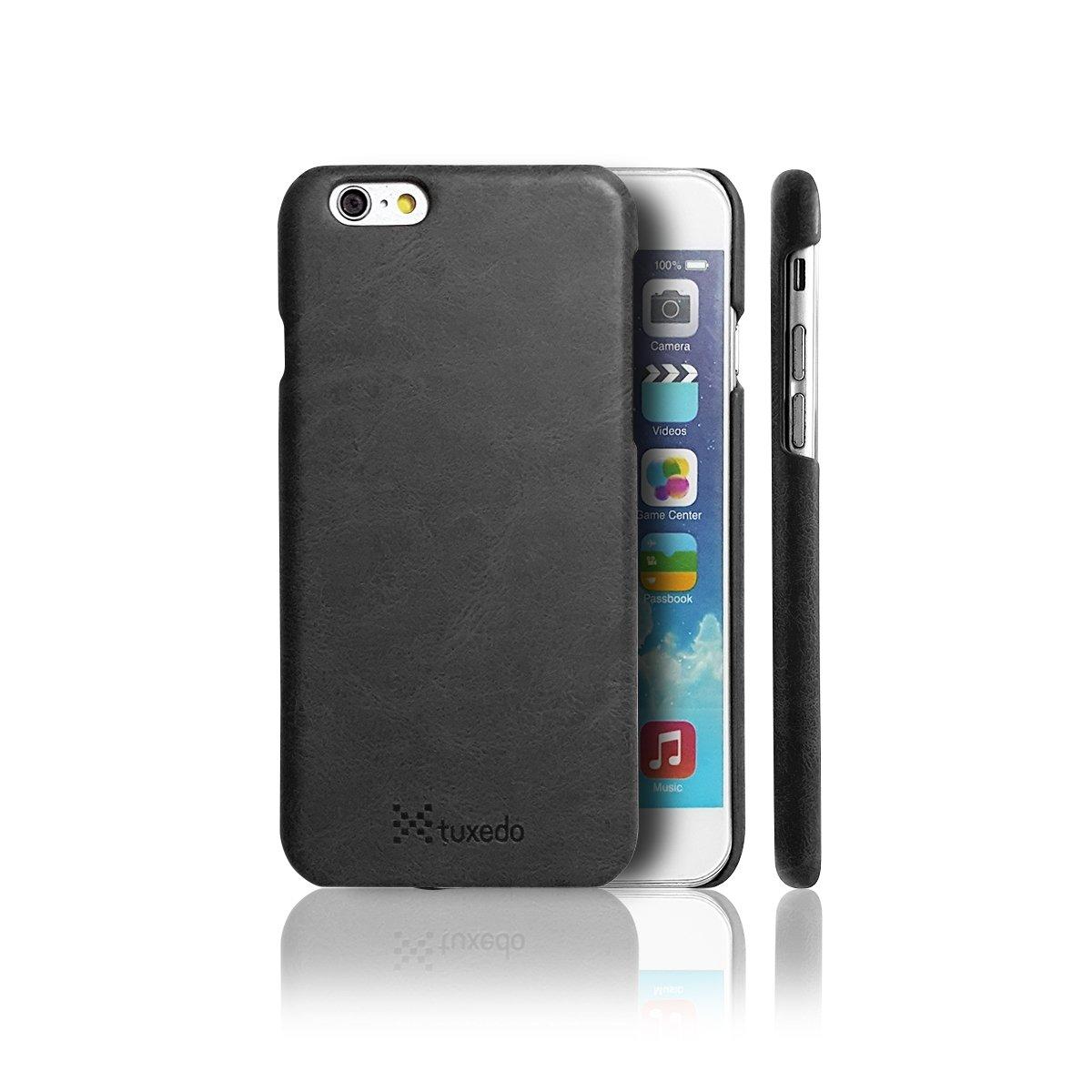 Ốp lưng da iPhone 6 / 6S Tuxedo, da PU cao cấp, cứng cáp, chống va đập, biến dạng