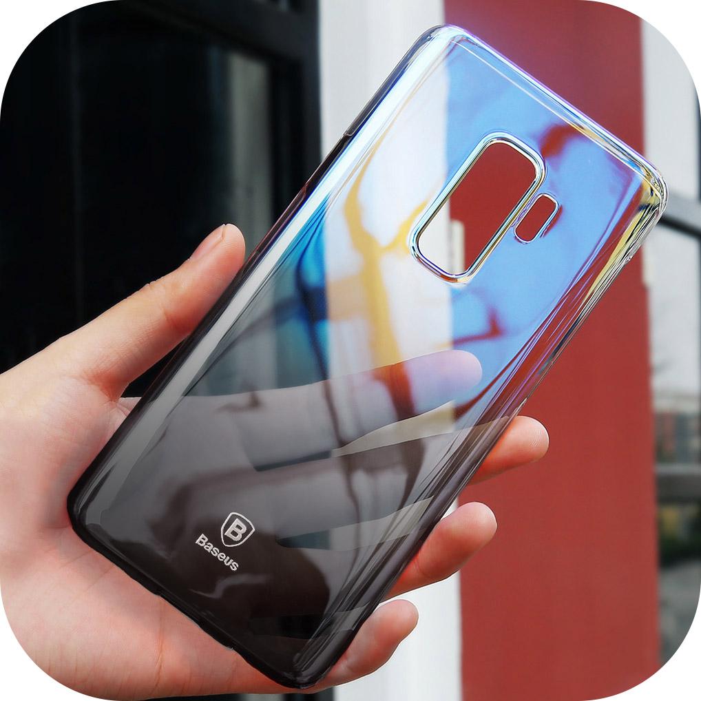 Ốp lưng Samsung Galaxy S9 Plus Baseus Glaze chống bụi, chống trầy xước