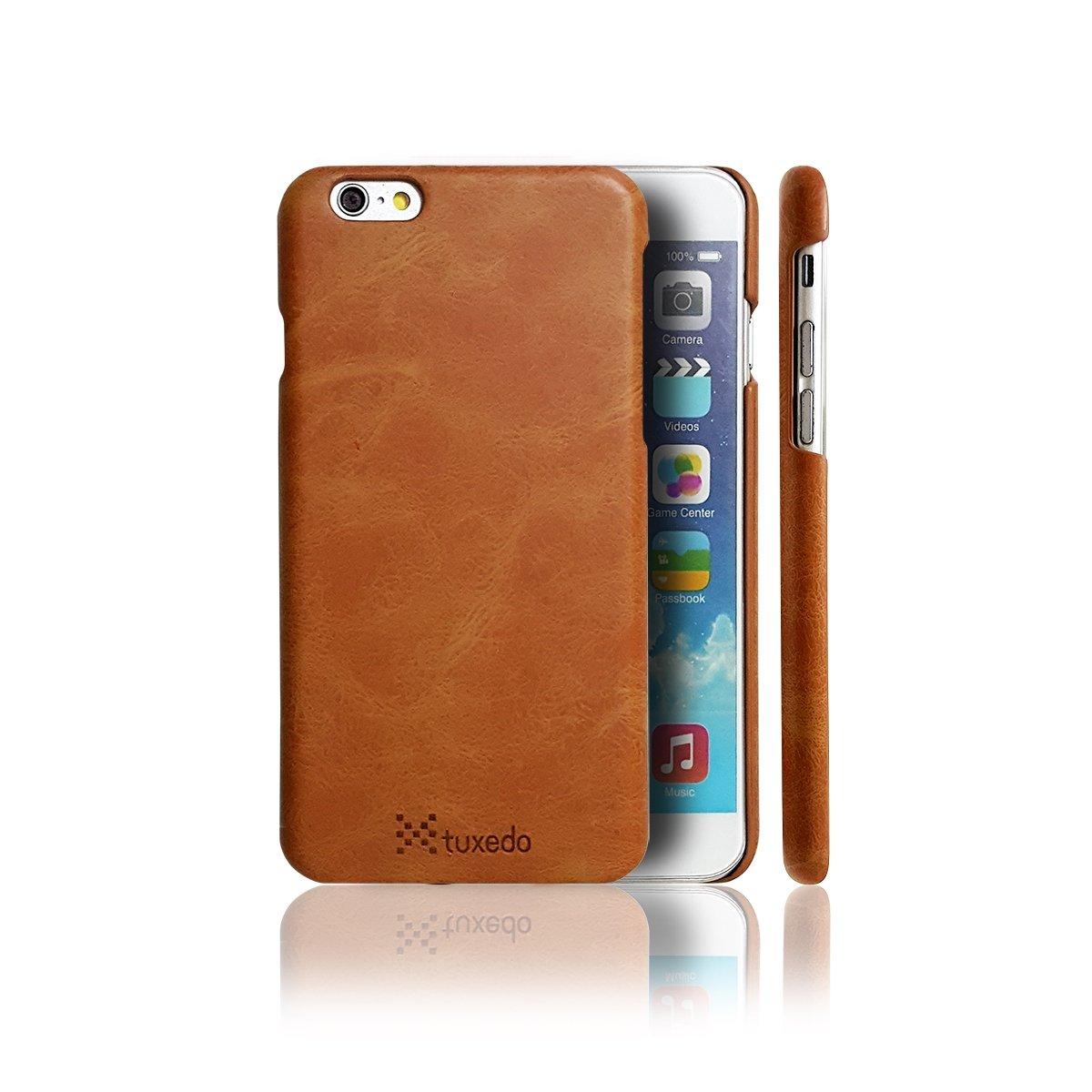 Ốp lưng da iPhone 6/6S Plus Tuxedo, da PU cao cấp, cứng cáp, chống va đập, biến dạng