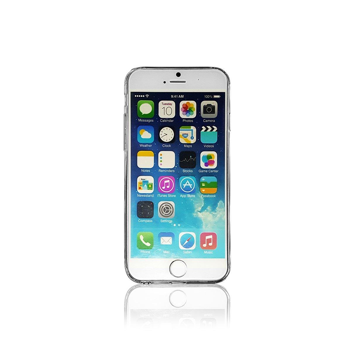 Ốp lưng iPhone 6 / 6S Plus, Tuxedo Phantom (TPU cao cấp, trong suốt, mềm mại, chống va đập)