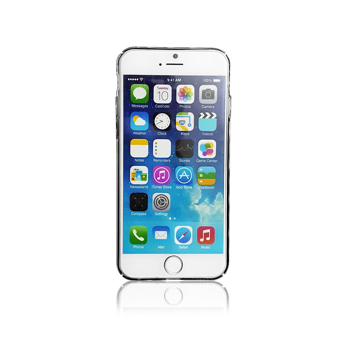 Ốp lưng iPhone 6/6S Tuxedo Mirage (nhựa cứng cao cấp, trong suốt, đàn hồi, chống va đập)