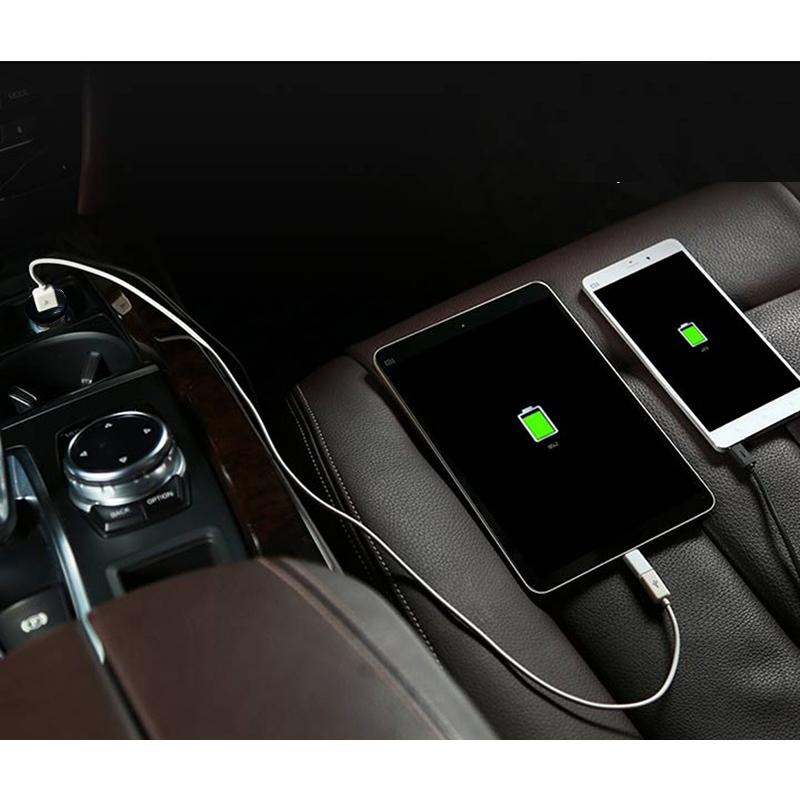 Sạc oto Tuxedo TX-C2 2 cổng USB 5V/3.1A