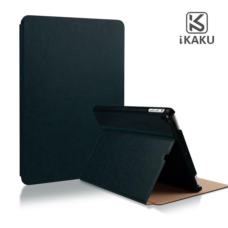 Bao da iPad 6 ( iPad Air 2 ) Kaku ( da PU cao cấp, sang trọng, chống va đập )