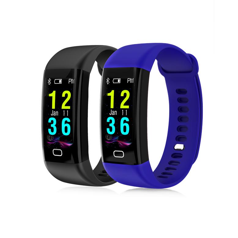 Đồng hồ thông minh đo sức khỏe Tuxedo F07, tích hợp nhiều môn vận động, màn hình màu