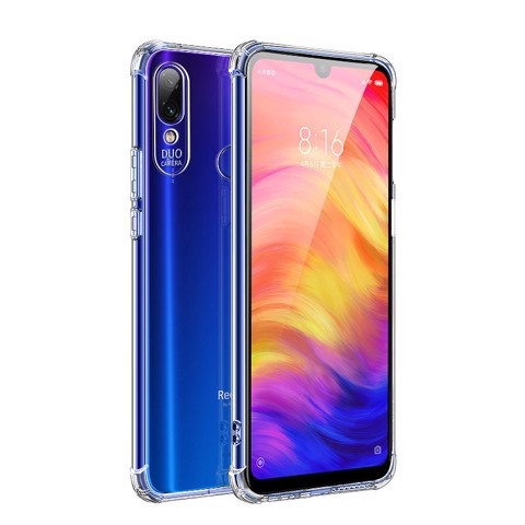 Ốp lưng Xiaomi Redmi Note 7, trong suốt chống sốc 6D