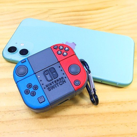 Case silicon cho tai nghe Airpods Pro mẫu Nintendo Switch