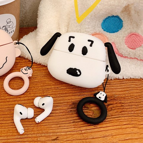 Case silicon cho tai nghe Airpods Pro mẫu Snoopy