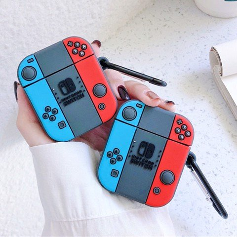 Case silicon cho tai nghe Airpods mẫu Nintendo Switch