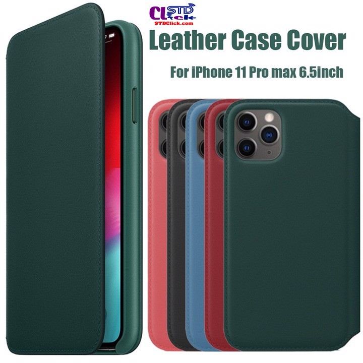 BAO DA IPHONE 11 PRO MAX - 11 PRO - 11 LEATHER FOLIO
