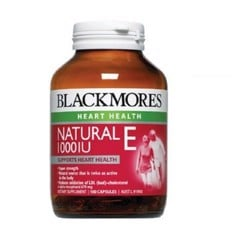 Viên uống Vitamin E Blackmores Natural Vitamin E 1000IU