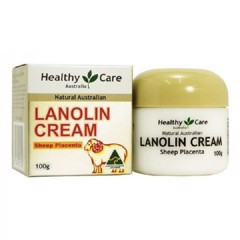 Kem nhau thai cừu Healthy Care Lanolin with Sheep Placenta 100g