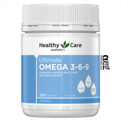 Dầu cá Healthy Care Ultimate O mega 3-6-9