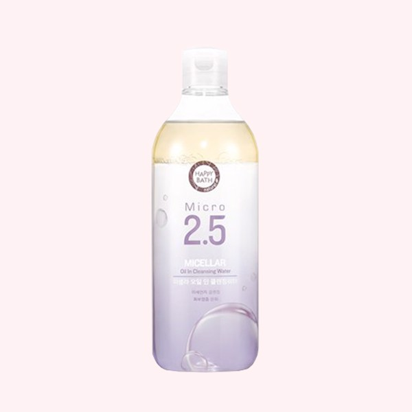 NƯỚC TẨY TRANG PHA DẦU HAPPY BATH MICRO 2.5 MICELLAR OIL IN CLEASING WATER